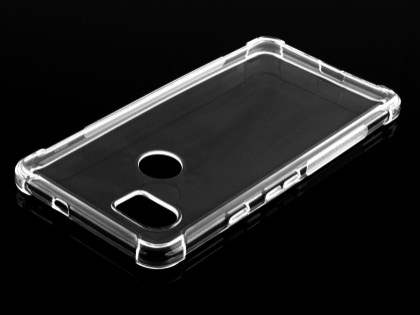 Gel Case with Bumper Edges for Google Pixel 2 XL - Clear Soft Cover