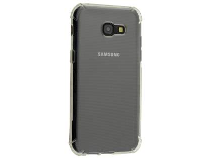 Gel Case with Bumper Edges for Samsung Galaxy A5 (2017) - Clear Soft Cover