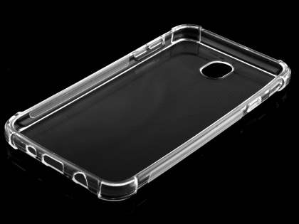 Gel Case with Bumper Edges for Samsung Galaxy J7 (2017) - Clear