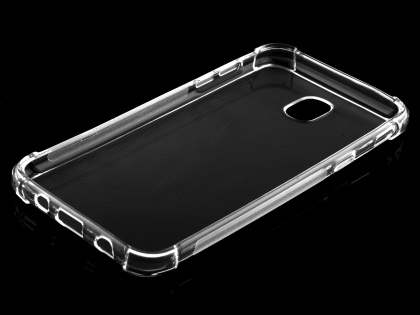 Gel Case with Bumper Edges for Samsung Galaxy J5 Pro (2017) - Clear