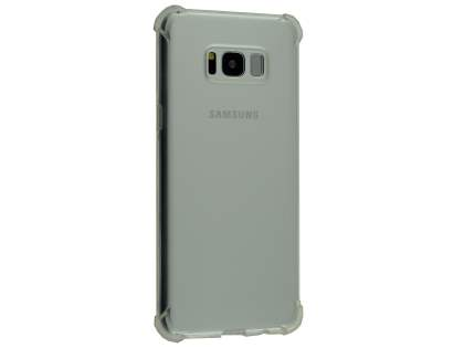 Gel Case with Bumper Edges for Samsung Galaxy S8+ - Clear Soft Cover