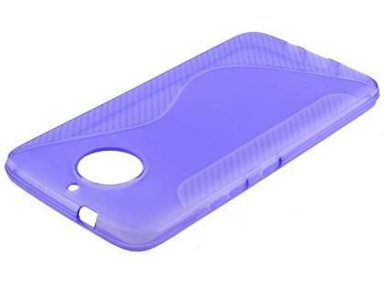 Wave Case for Motorola Moto G5S Plus - Purple Soft Cover