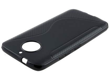 Wave Case for Motorola Moto G5S Plus - Black Soft Cover