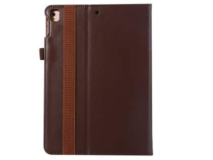 Genuine Leather Case with Stand for iPad 9.7 (2018/2017) / Pro 9.7 / Air 2 / Air - Brown