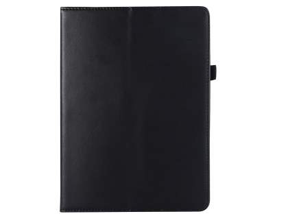 Genuine Leather Case with Stand for iPad 9.7 (2018/2017) / Pro 9.7 / Air 2 / Air - Black