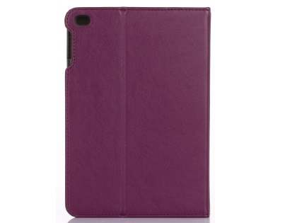 Synthetic Leather Case with Stand for iPad Mini 4 - Purple
