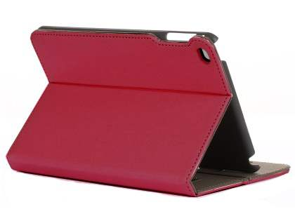 Synthetic Leather Case with Stand for iPad Mini 4 - Rose Leather Flip Case