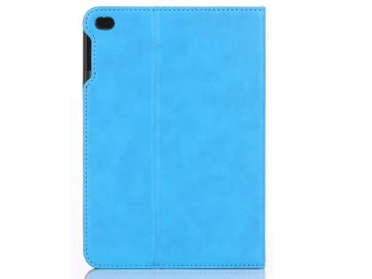 Synthetic Leather Case with Stand for iPad Mini 4 - Sky Blue