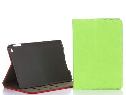 Synthetic Leather Case with Stand for iPad Mini 4 - Green