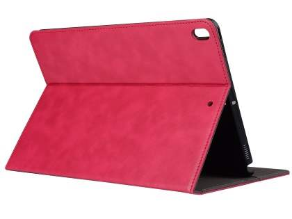 Synthetic Leather Flip Case with Stand for iPad Pro 10.5 - Pink Leather Flip Case