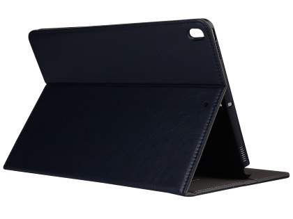 Synthetic Leather Flip Case with Stand for iPad Pro 10.5 - Midnight Blue Leather Flip Case