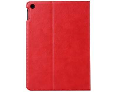 Synthetic Leather Flip Case with Stand for iPad 2/3/4 - Red