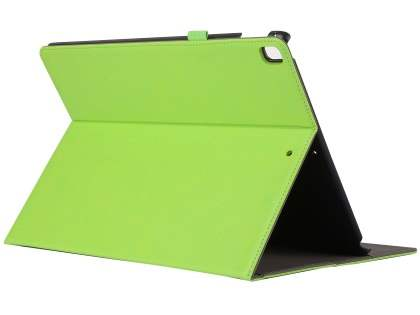 Synthetic Leather Flip Case with Stand for iPad Pro 12.9 - Green Leather Flip Case