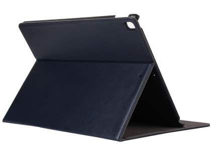 Synthetic Leather Flip Case with Stand for iPad Pro 12.9 - Midnight Blue Leather Flip Case