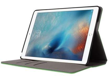 Synthetic Leather Flip Case with Stand for iPad 9.7 (2018/2017) / Pro 9.7 / Air 2 / Air - Green