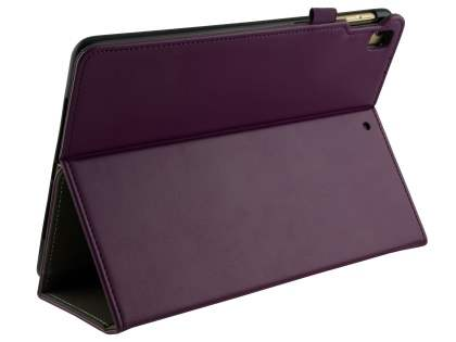Synthetic Leather Flip Case with Stand for iPad 9.7 (2018/2017) / Pro 9.7 / Air 2 / Air - Purple