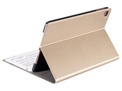 Smart Bluetooth Keyboard Case for iPad 9.7 (2018/2017) / Pro 9.7 / Air 2 / Air - Gold Keyboard