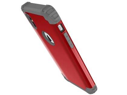 Defender Case for iPhone Xs/X - Red