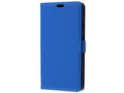 Synthetic Leather Wallet Case with Stand for Google Pixel 2 XL - Blue