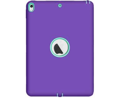 Rugged Impact Case for iPad Pro 10.5 - Purple/Mint Impact Case