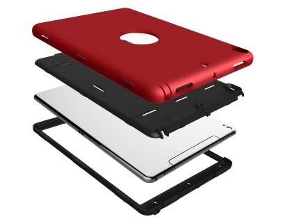 Impact Case for iPad Pro 10.5 - Red/Black