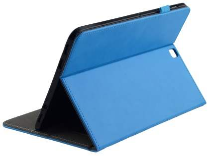Synthetic Leather Flip Case with Stand for Samsung Galaxy Tab S2 9.7 - Sky Blue Leather Flip Case