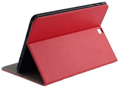 Synthetic Leather Flip Case with Stand for Samsung Galaxy Tab S2 9.7 - Red Leather Flip Case