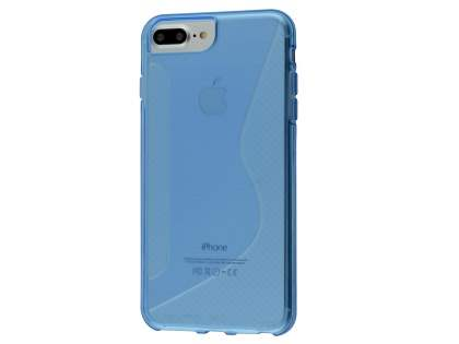 Wave Case for Apple iPhone 8 Plus - Blue