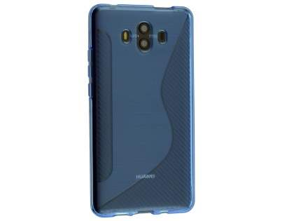 Wave Case for Huawei Mate 10 - Blue Soft Cover