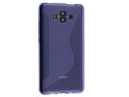 Wave Case for Huawei Mate 10 - Purple Soft Cover
