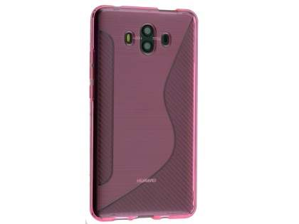 Wave Case for Huawei Mate 10 - Pink Soft Cover