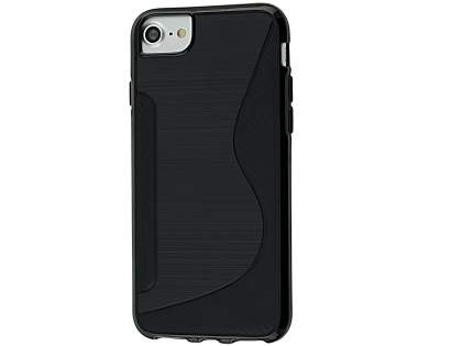 Wave Case for iPhone 6s/6 - Black Soft Cover