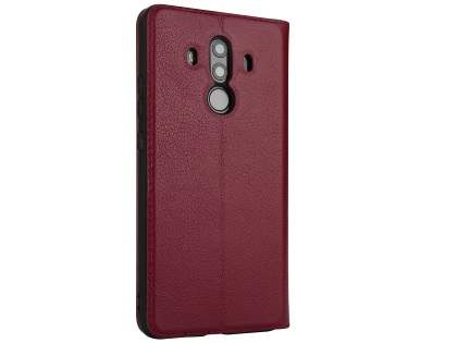 Top Grain Leather Case With Windows for Huawei Mate 10 Pro - Rosewood