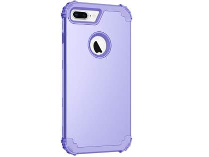 Defender Case for iPhone 8 Plus - Lilac Impact Case