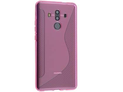 Wave Case for Huawei Mate 10 Pro - Pink Soft Cover