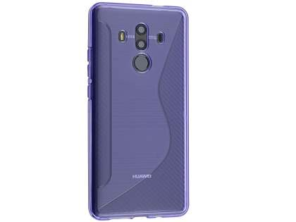Wave Case for Huawei Mate 10 Pro - Purple Soft Cover