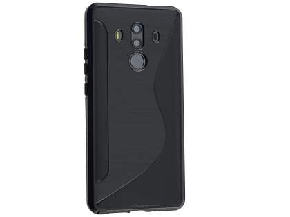 Wave Case for Huawei Mate 10 Pro - Black Soft Cover