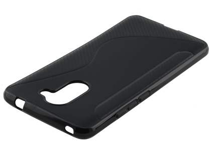 Wave Case for Huawei Y7 - Black Soft Cover