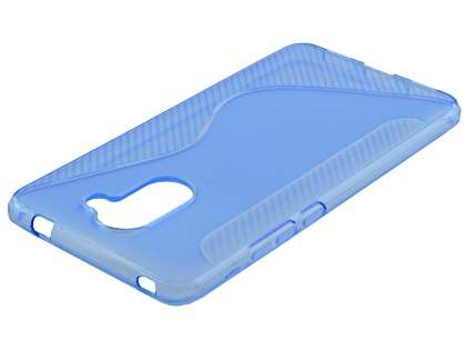 Wave Case for Huawei Y7 - Blue Soft Cover