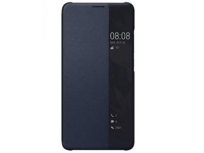 Official Huawei Mate 10 Pro Smart View Flip Case - Deep Blue S View Cover