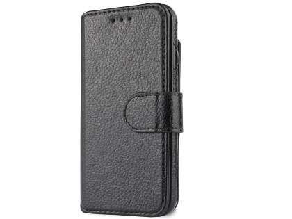 2-in-1 Synthetic Leather Wallet Case for iPhone 6s/6 - Black