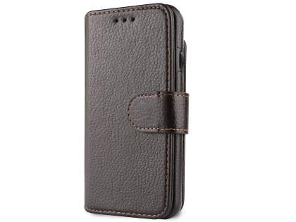 2-in-1 Synthetic Leather Wallet Case for iPhone 6s/6 - Brown