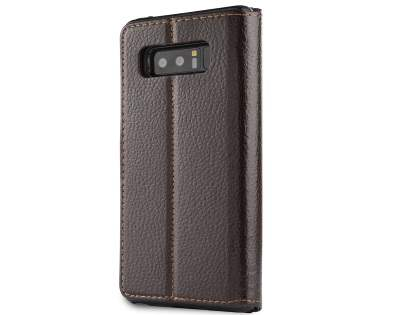 2-in-1 Synthetic Leather Wallet Case for Samsung Galaxy Note8 - Brown Leather Wallet Case