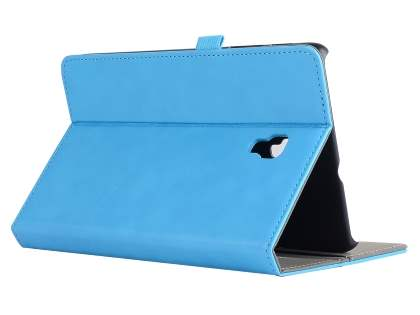 Synthetic Leather Flip Case with Stand for Samsung Galaxy Tab A 8.0 (2017) - Sky Blue Leather Flip Case