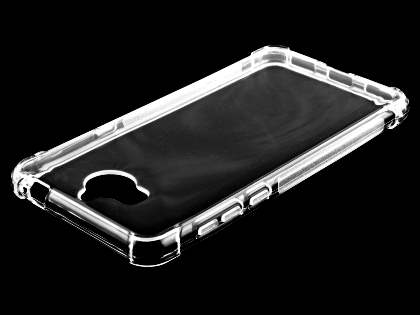 Gel Case with Bumper Edges for Huawei Y5 (2017) - Clear Soft Cover