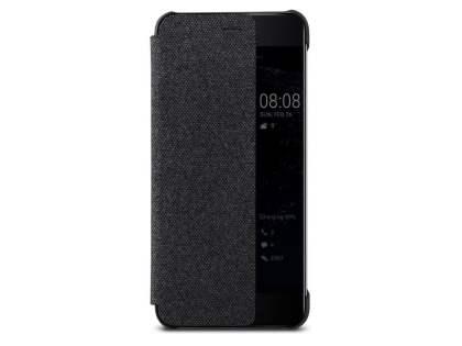best website 36a63 9407a Official Huawei P10 Smart View Flip Case - Dark Grey