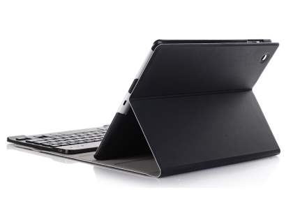 Keyboard and Case for iPad 2/3/4 - Classic Black Keyboard