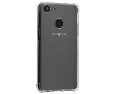 best service 22800 431b2 Gel Case with Bumper Edges for OPPO A73 - Clear