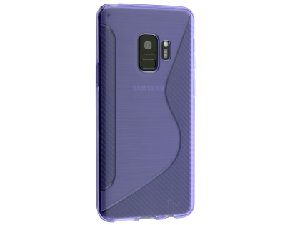 Wave Case for Samsung Galaxy S9 - Purple Soft Cover
