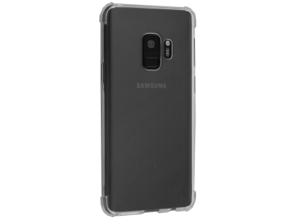 Gel Case with Bumper Edges for Samsung Galaxy S9 - Clear Soft Cover
